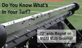 MG72 Magnet Synthetic Turf,Titled,280w